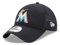 New Era Miami Marlins Baseball Cap Hat MLB PERF PIVOT 2 80470538
