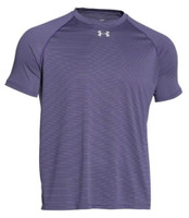 Under Armour Men's UA Stripe Tech Locker Tee Athletic T-Shirt Sport 6 Colors