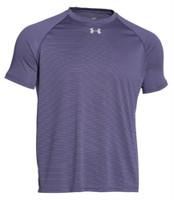Under Armour Men's UA Stripe Tech Locker Tee Athletic T-Shirt Sport 6 Colors