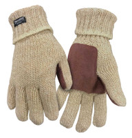 Northstar Mens Full Finger Ragg Wool Glove 3M Thinsulate 40 Gram Insulation Rag