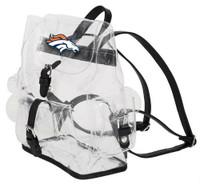 Northwest NFL Denver Broncos Lucia Clear Backpack Most Stadium Event Approved CO