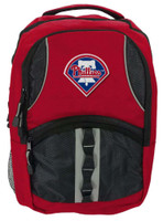 Northwest MLB Philadelphia Phillies Captain Backpack MLB Fan Padded Back PA