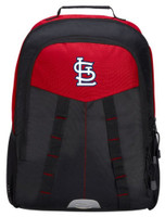 Northwest MLB St Louis Cardinals Scorcher Backpack MLB Padded Laptop Pocket