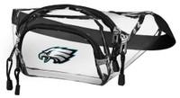 Northwest NFL Philadelphia Eagles Clear Transport Belt Bag Fanny Pack Seethrough