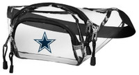 Northwest NFL Dallas Cowboys Clear Transport Belt Bag Fanny Pack See-through TX