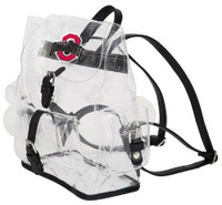 Northwest NFL Ohio State University Buckeyes Lucia Clear Backpack Stadium Events