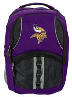 Northwest NFL Minnesota Vikings Captain Backpack NFL Fan Padded Back Mesh Sides