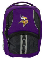 Northwest NFL Minnesota Vikings Captain Backpack NFL Fan Padded Back Mesh Sides