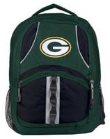 Northwest NFL Green Bay Packers Captain Backpack NFL Fan Padded Back Mesh Sides