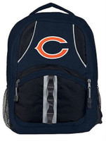 Northwest NFL Chicago Bears Captain Backpack NFL Fan Padded Back Mesh Sides IL