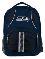 Northwest NFL Seattle Seahawks Captain Backpack NFL Fan Padded Back Mesh Sides