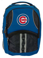 Northwest MLB Chicago Cubs Captain Backpack MLB Fan Padded Back Mesh Sides IL