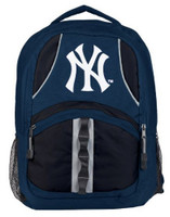 Northwest MLB New York Yankees Captain Backpack MLB Fan Padded Back Mesh Sides