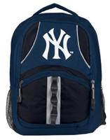 Northwest MLB New York Yankees Captain Backpack MLB Fan Padded Back Mesh Sides