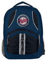 Northwest MLB Minnesota Twins Captain Backpack MLB Fan Padded Back Mesh Sides MN
