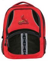 Northwest MLB St Louis Cardinals Captain Backpack MLB Fan Padded Back Mesh Side