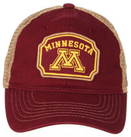 Zephyr University of Minnesota Placard Gophers College Baseball Cap Twin Cities