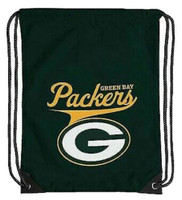 Northwest NFL Green Bay Packers Team Spirit Back Sack Drawstring Sling Bag WI