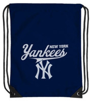 Northwest MLB New York Yankees Team Spirit Back Sack Drawstring Sling Bag NYC