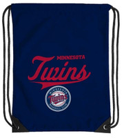 Northwest MLB Minnesota Twins Team Spirit Back Sack Drawstring Sling Bag MN