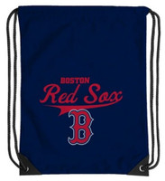 Northwest MLB Boston Red Sox Team Spirit Back Sack Drawstring Sling Bag MA