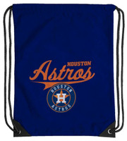 Northwest MLB Houston Astros Team Spirit Back Sack Drawstring Sling Bag Texas TX