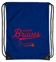 Northwest MLB Atlanta Braves Team Spirit Back Sack Drawstring Sling Bag Georgia