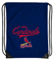 Northwest MLB St Louis Cardinals Team Spirit Back Sack Drawstring Sling Bag MO