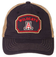 Zephyr University of Arizona Placard Wildcats College Baseball Cap Hat Tucson
