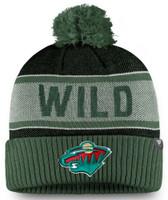 Adidas Men's NHL Minnesota Wild Stocking Knit Hat Beanie Winter Cold Weather Ski