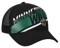 Adidas NHL Hockey Minnesota Wild Trucker Cap Hat Mesh Back Minneapolis MN