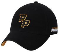 Adidas NHL Hockey Pittsburgh Penguins Baseball Cap Dad Ligature Hat Adjustable