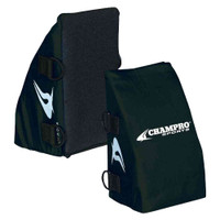 Champro Baseball/Softball Catcher's Knee Wedge Reliever Black, Youth CG28B