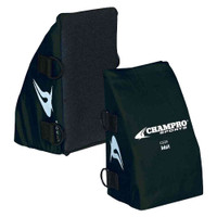 Champro Baseball/Softball Catcher's Knee Wedge Reliever Black, Adult CG29B