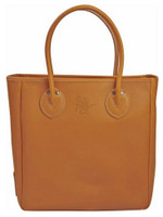 Rawlings Women's Heart of the Hide Tan Large Tote Bag Purse Baseball Travel Tan