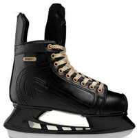 Roces Men's Slapshot Glamour Vintage Hockey Look Figure Ice Skates Black