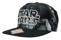 REX Star Wars Sublimated Image Hat Cap Walt Disney Size 14+ Snapback Adjustable