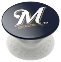 Popsockets MLB Milwaukee Brewers Cell Phone PopGrip Swappable for Phones Tablets