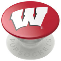 Popsockets University of Wisconsin Badgers Cell Phone PopGrip Swappable Tablets