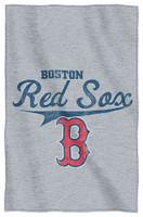 Northwest MLB Boston Red Sox Stadium Sweatshirt Throw Blanket Spread MA