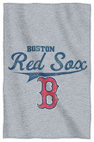 Northwest MLB Boston Red Sox Stadium Sweatshirt Throw Blanket Spread MA