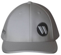 Worth 404M Softball Trucker Flex Fit Hat Cap Baseball Mesh Back White
