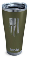 Tervis  American Flag Laser-Engraved 30 oz. Stainless Tumbler Travel Cup Mug Lid