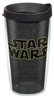 Tervis Classic Star Wars Galaxy 16 oz Plastic Thermal Tumbler Travel Cup Mug USA