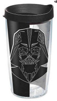 Tervis Star Wars Vader Trooper 16 oz Plastic Thermal Tumbler Travel Cup Mug USA