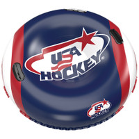 "Inglasco USA Hockey Inflatable Snow Tube Winter Tubing NHL 37"" Pool 5001-USA"