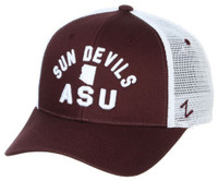 Zephyr Arizona State University Juncture Sun Devils Hat Baseball Cap Adjustable