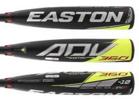 Easton Youth Baseball Bat ADV 360 USA Approved -10 Boys 2 5/8 2-Piece YBB20ADV10