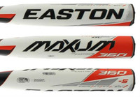Easton Elite Youth (-5) Baseball Bat 2020 MAXUM 360 USSSA XXL 2 5/8 SL20MX58