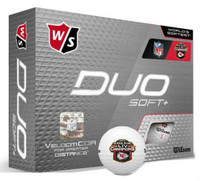 Wilson Staff NFL Super Bowl Champions Kansas City Chiefs Golf Balls Doz Duo Soft